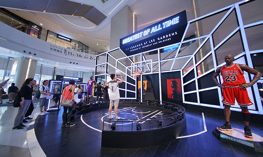 Hysan Place 360 Bullet Time Photo Booth TIEBUSA HONG