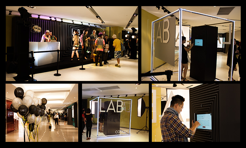 Lab Concept Photo Booth The Grand Opening Party